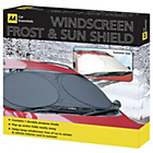 more details on The AA Windscreen Frost Shield - Black/Silver.