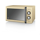 more details on Swan SM22070CN Standard Microwave - Cream.