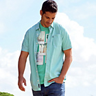 more details on Cherokee Mens Green Check Shir.
