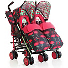 more details on Cosatto Supa Dupa Twin Stroller - Flamingo.
