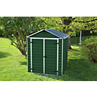 more details on Palram Skylight Plastic Shed - 6 x 5ft.