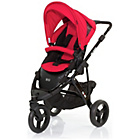more details on ABC Design Cobra 2-in-1 Pushchair - Black/Cranberry.