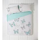 more details on Butterfly Blue Bedding Set Bundle - Kingsize.
