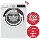 more details on Hoover Wizard DWTL49AIW3 9KG Wi-Fi Washing Machine- Exp.