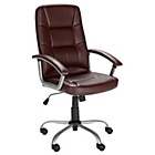 more details on Walker Height Adjustable Office Chair - Brown.