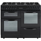 more details on Cookworks CCL100DFB Dual Fuel Range Cooker-Black/Ins/Del/Rec