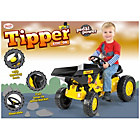 more details on Toyrific Pedal Ride On Dumper Truck - Yellow and Green.