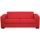 more details on New Ava Large Fabric Sofa - Red.