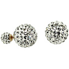 more details on Link Up Glitter Ball Stud Earrngs.