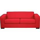 more details on New Ava Fabric Sofa Bed - Red.