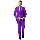 more details on Opposuit Purple Prince Suit Chest 48