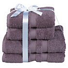 more details on Heart of House Egyptian Cotton Bale - Mauve.