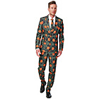 more details on Suitmeister Pumpkin Leaves Suit Size L