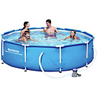 more details on Bestway 12ft Steel Pro Frame Pool Set.
