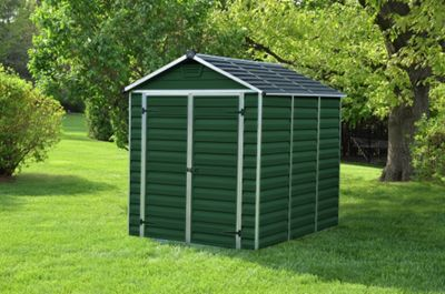 Buy Rowlinson Woodvale Metal Shed 10ft X 6ft At Argos Co