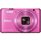 more details on Nikon S7000 Coolpix Compact 16MP 20x Zoom Camera - Pink.