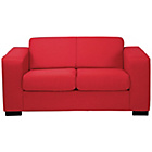 more details on New Ava Compact Fabric Sofa - Red.