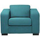 more details on New Ava Fabric Chair - Teal.