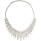 more details on Link Up Large Diamante Collar Necklet.