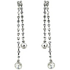 more details on Link Up Diamante Drop Earrings.