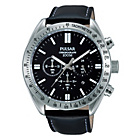 more details on Pulsar Men's Black Dial Sports Chrono Strap Watch.