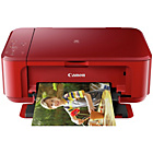 Canon Pixma MG3650 Wi-Fi Printer - Red