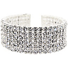more details on Link Up Diamante Open Bangle.
