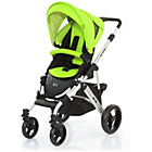 more details on ABC Design Mamba 2-in-1 Pushchair - Silver/Lime.