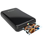more details on Polaroid Zip Instant Print Mobile Printer & 10 Shots - Black