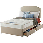 more details on Sealy Revital Tufted Backcare Edge Double 4 Drw Divan Bed.