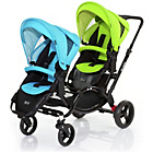 more details on ABC Design Zoom Tandem Pushchair - Rio/Lime.