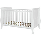 more details on Kub Sleigh Cotbed - White.
