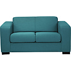 more details on New Ava Compact Fabric Sofa - Teal.