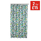 more details on ColourMatch Shower Curtain - Geometric