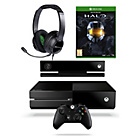 more details on Xbox One 500GB, Kinect, Halo: The Master Chief and Headset.