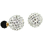 more details on Link Up Glitter Ball Double Stud Earrings.