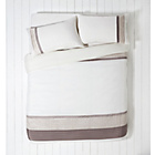 more details on Isla Pintuck Twin Pack Bedding Set - Double.