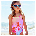 more details on Cherokee Girls' Palm Tree Swimsuit.