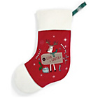 more details on Mamas & Papas Traditional Christmas Stocking - Large.