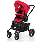 more details on ABC Design Mamba 2-in-1 Pushchair - Black/Cranberry.