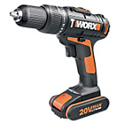 more details on Worx Hammer Drill - 20V with 2 batteries.