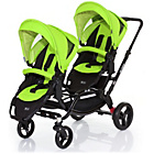 more details on ABC Design Zoom Tandem Pushchair - Lime.