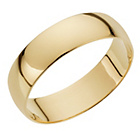 more details on 18ct Gold Court Shape Wedding Ring.