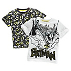 more details on Batman Boys' T-Shirt 2 Pack - 3-4 Years.