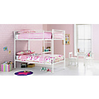 more details on Samuel White Single Bunk Bed with Ashley Mattress.
