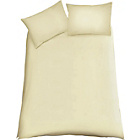 more details on ColourMatch Cotton Cream Bedding Set - Kingsize.