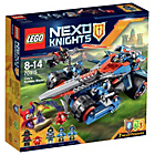 more details on LEGO Nexo Knights Clay's Rumble Blade - 70315.