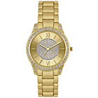 more details on Spirit Ladies' Gold Glitter Dial Gold Bracelet Watch.