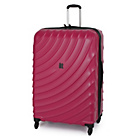 more details on IT Luggage Duralition Expandable 4 Wheel Suitcase -Red.