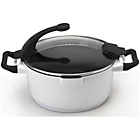 more details on Virgo Cookware 24cm White Stockpot.